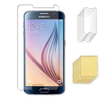 5-pack Samsung Galaxy S6 skärmskydd  transparent