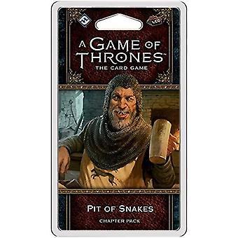 Pit of käärmeet luku paketti Game of Thrones LCG 2nd Edition