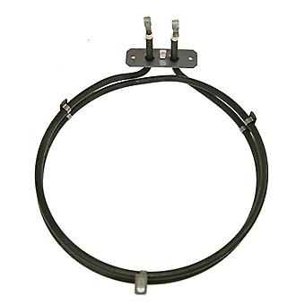 Beko Replacement Fan Oven Cooker Heating Element. (1800w) (2 Turns)