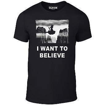 I want to believe nimbus t-shirt -  inspired design