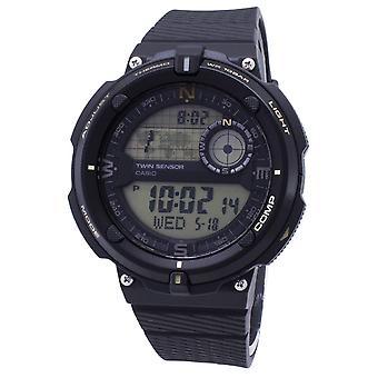 Relógio masculino digital do quartzo digital do sensor ao ar livre de Casio