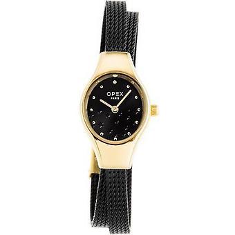 Opex OPW022 Watch - FILANTE Blue Steel Bracelet Bo tier Steel Dor Pink Women