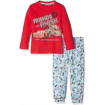 Auta-Disney Cars Lightning McQueen chłopców Piżama ustawić długi rękaw