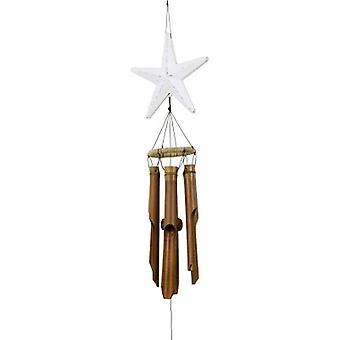 Afligido estrella blanca pez viento campana
