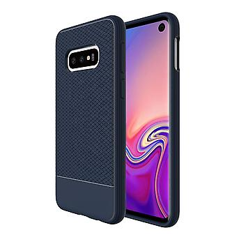 For Samsung Galaxy S10e Armour Case, Snap Blue Armor Shock Proof Slim Cover