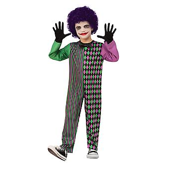 Bristol Novelty Childrens/Kids Clown Boy Costume