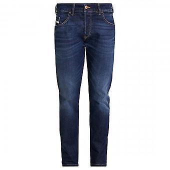 Diesel D-Bazer Regular Tapered Medium Blue Jeans 082AY