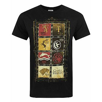 Game Of Thrones House Panels Men-apos;s T-Shirt