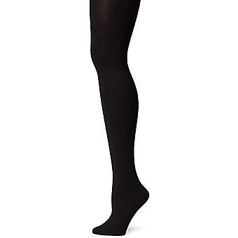 Berkshire Women's Cozy Tight with Fleece Lined Leg, Black, Petite