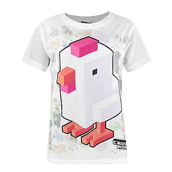 Crossy Road Character Sublimation Girl's T-Shirt