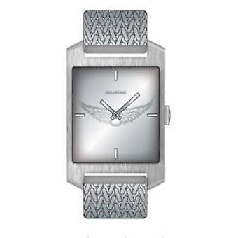 Zadig and Voltaire ZVT313 Watch - Silver Steel Bracelet Silver Silver Silver Dial Silver