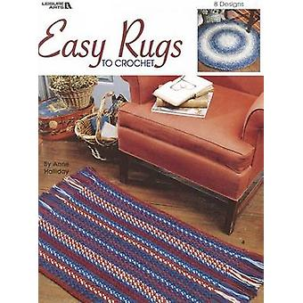 Easy Rugs to Crochet by Anne Halliday - 9781574868999 Book