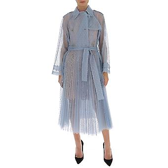 Red Valentino Tr3cha30428e34 Women's Light Blue Polyester Dress