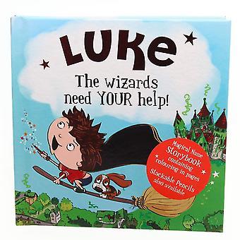 Historie og Heraldry Magiske Navn Storybook - Luke