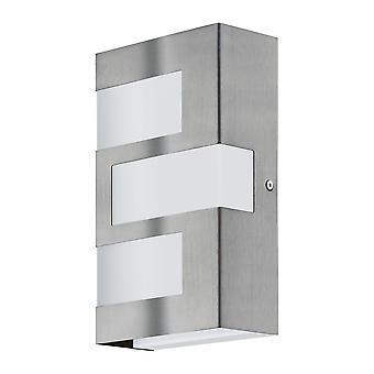 Eglo Ralora - LED al aire libre Flush pared luz acero inoxidable 6520 - EG94086
