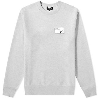 A.p.c A.P.C Neil Patch Sweatshirt
