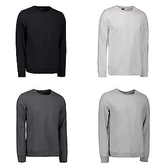 ID Mens Casual Round Neck Sweatshirt