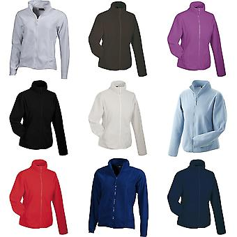 James and Nicholson Womens/dames micropolaire Jacket