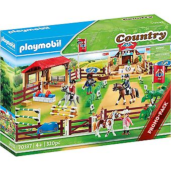 Playmobil 70337 Large Country Equestrian Horse Tournament 320PC Playset