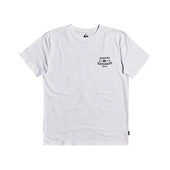 Quiksilver The High Road Short Sleeve T-shirt in wit