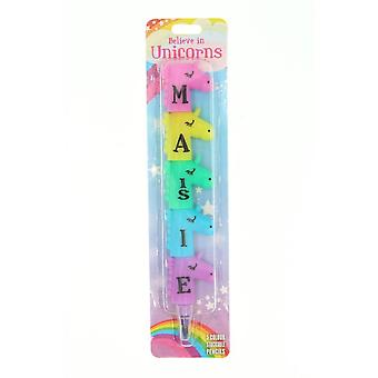 History & Heraldry Magical Name Pencil - Maisie