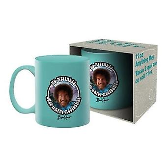 Bob ross - no mistakes ceramic mug
