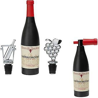 Geschenkset Korkenzieher mit Wein Stopper