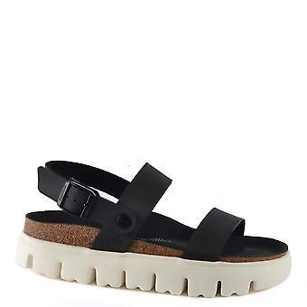 Birkenstock Cameron Chunky Damasko Black Sandal