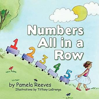 Numbers All in a Row by Reeves & Pamela