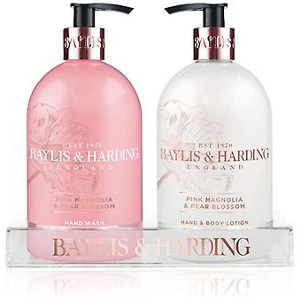 Baylis & Harding Pink Magnolia & Pear blossom Hand Lotion & Soap
