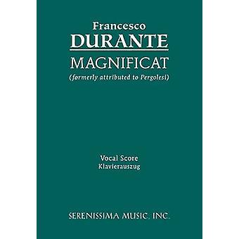 Magnificat Vocal score by Durante & Francesco