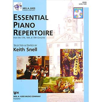 Essential Piano Repertoire Level Two by Arranged by music Keith Snell