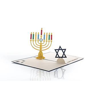 Cardology Hanukkah Pop Up Card