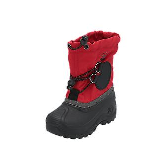 Kamik SOUTHPOLE4 Kids Boots Red Lace-Up Boots Winter