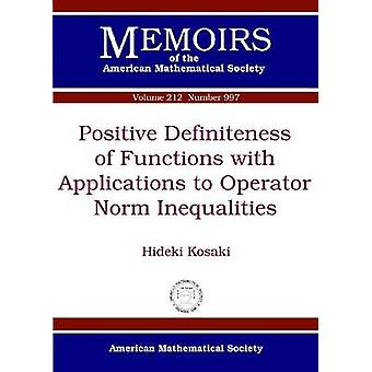 Positive Definiteness of Functions with Applications to Operator Norm