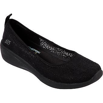 Skechers women's arya airy comfort slip on shoe various colours 30320