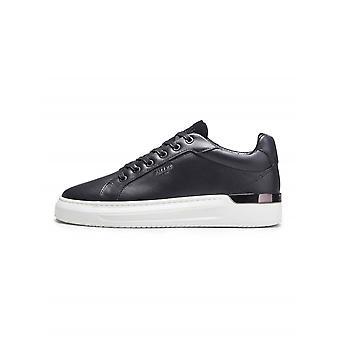 Mallet GRFTR Black Leather Sneaker