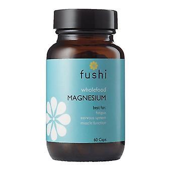Fushi Wellbeing Whole Food Magnesium Veg Caps 60 (F0021257)