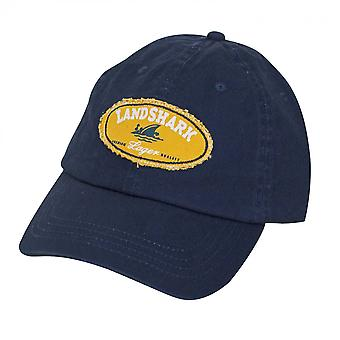 Landshark verstelbare marine blauwe hoed