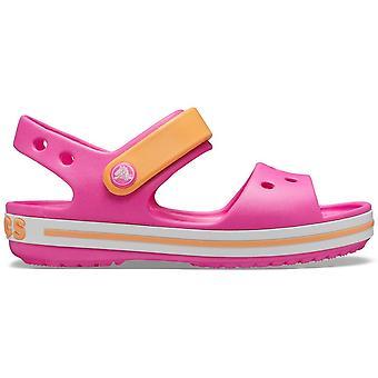 Crocs Crocband Sandal Deti 12856ELECTRICPINK univerzálne letné dojčatá topánky