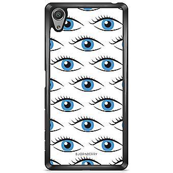 ביורן פגז סוני Xperia X-עיניים כחולות