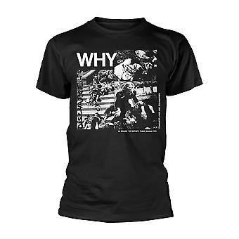 Discharge Why? Official Tee T-Shirt Mens Unisex