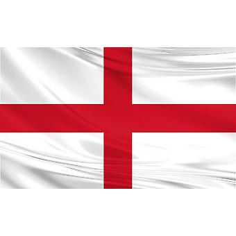 Pack of 3 Large England Flags 5 x 3ft
