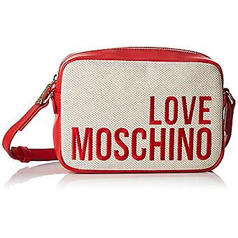 الحب موسكينو قماش متعددة الألوان (الطبيعية) حقيبة المعصم المرأة 15x10x15 سم (W x H x L)