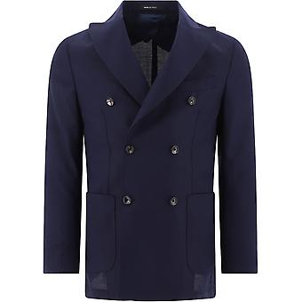Pulito Pe2077gioscar04 Men's Blue Wool Blazer
