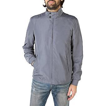 Geox - Clothing - Jackets - M8220GT2447-F1395_METALGREY - Men - gray - 54