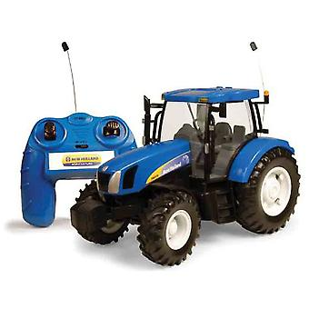 Marea Britanie Big Farm 01:16 New Holland T6070 Tractor de control de la distanță