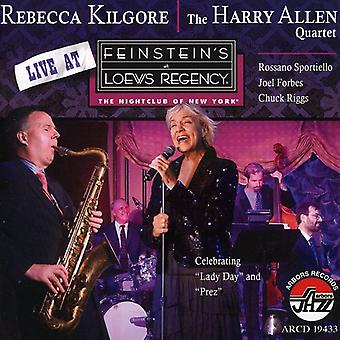 Rebecca Kilgore & Harry Allen - Live at Feinstein's at Loews [CD] USA import