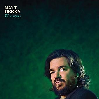 Matt Berry - Small Hours [CD] USA import