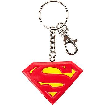 DC Comics Superman Bendable Logo 3& Nyckelring Ring Justice League Superhero